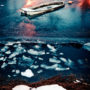 La barque gelée / Reine / Lofoten / Norvège