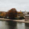 Square du Vert-Galant en automne