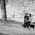 Un couple en automne