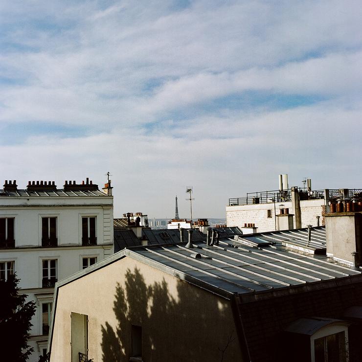Les toits de zinc