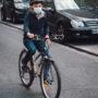 Le petit Vincent sur son vélo